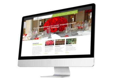 Green & Flowers Website