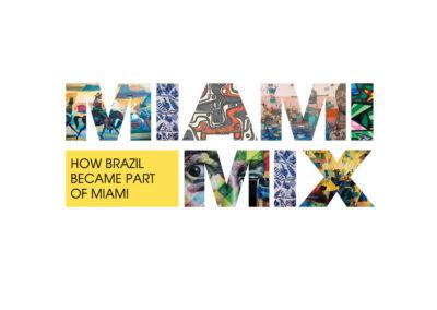 Miami Mix Logo - Centro Cultural Brasil-USA