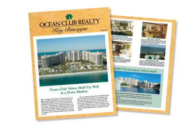 Ocean Club Realty Newsletter