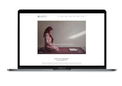 Patricia Jimenez Art Space Website